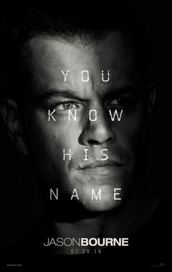 plakat Jason Bourne