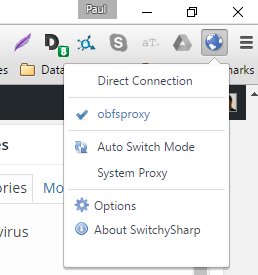 obfsproxy chrome proxy