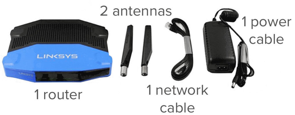 linksys router alle items