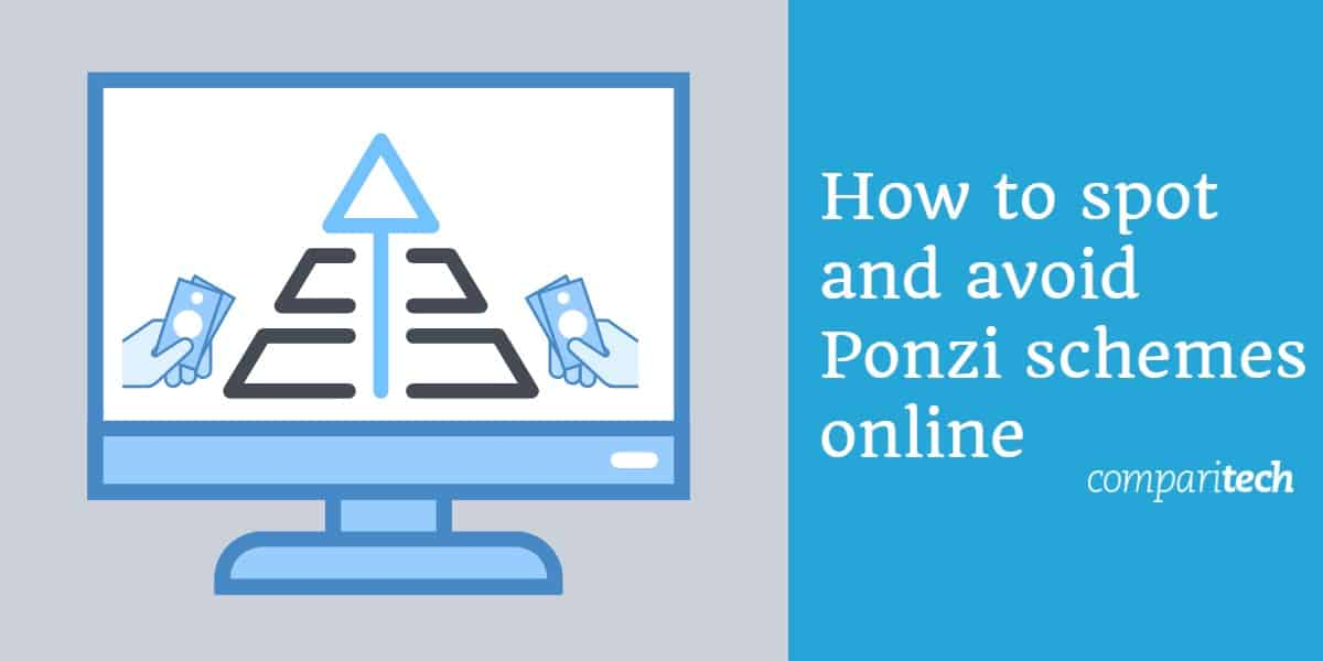 Ponzi at pyramid scheme online