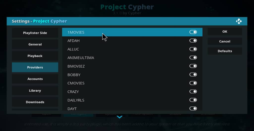 Project Cypher